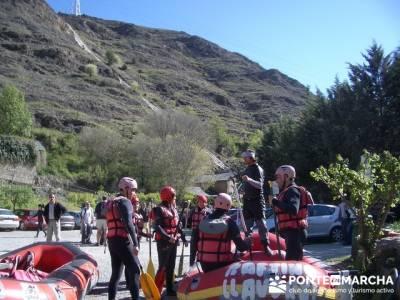 Rafting Noguera Pallaresa - Parque Nacional de Aigüestortes y Lago San Mauricio; material trekking